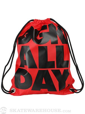 DGK All Day Cinch Bag  Red