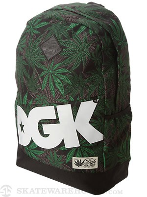 DGK Angle Deluxe Home Grown Backpack Green