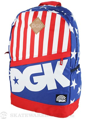 DGK Angle Deluxe Backpack Liberty