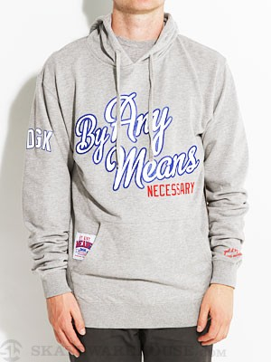 DGK By Any Means Hoodie Athletic Heather MD
