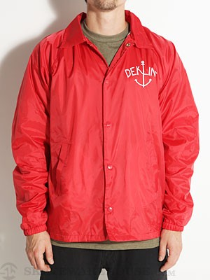 Dekline Anchor Coach Jacket Red SM