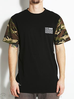 DGK AR-15 S/S Tee Black MD