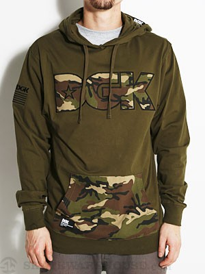 DGK AR-15 Hooded Jersey Army SM