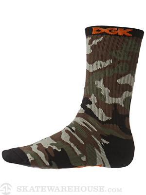 DGK Assault Socks Army/Black