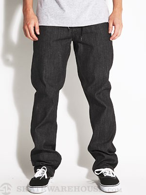 DGK Authentic Jeans Black Raw 28