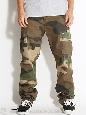 DGK Big Woods Cargo Pants Camo 28