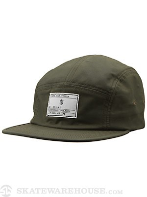 Dark Seas Boatswain Camp Hat Army Adjust