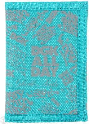DGK City Tri-Fold Wallet Teal