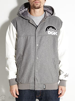 DGK Capital Jacket Ath. Heather SM