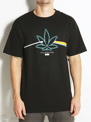 DGK Dark Side Tee Black SM