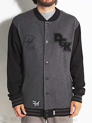 DGK Division Snap Fleece Black XL