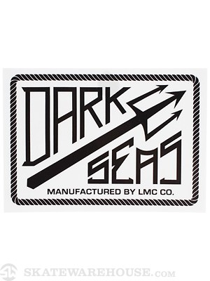 Dark Seas Dock Sticker