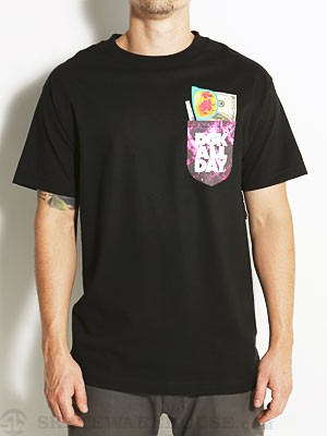 DGK Essentials Tee Black SM