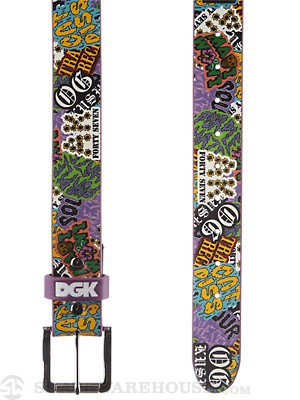DGK Flavas Belt Purple One Size