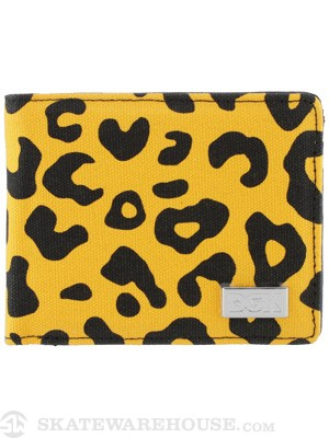 DGK Fast Life Bi-Fold Wallet Orange