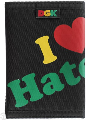 DGK Haters Wallet Rasta