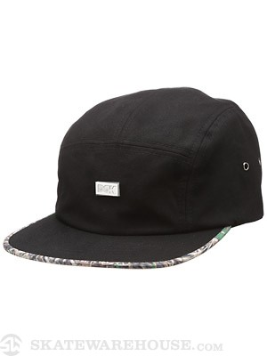 DGK Humboldt 5 Panel Black Adjust