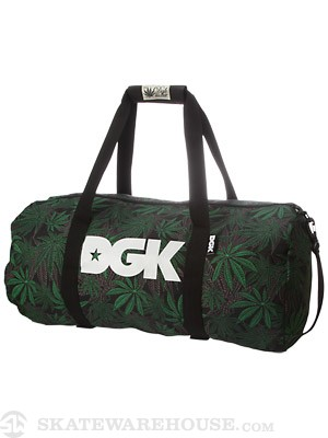 DGK Home Grown Duffle Bag Green