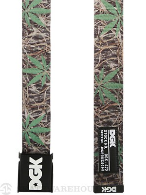 DGK Humboldt Scout Belt Camo Adjustable