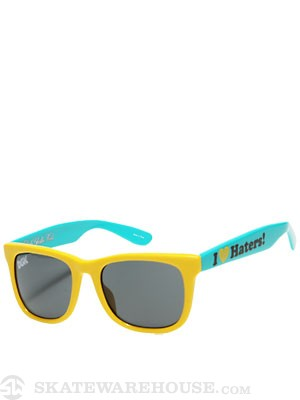 DGK Haters Sunglasses  Yellow/Green