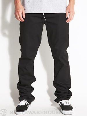 DGK Heritage Twill Pants Black 32