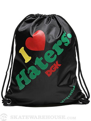 DGK Haters Cinch Bag Rasta