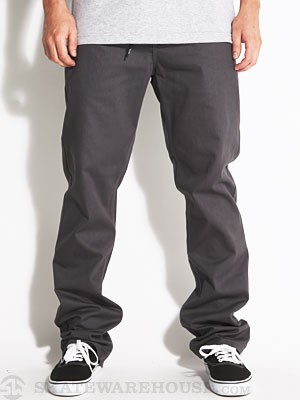 DGK Heritage Twill Pants Charcoal 28