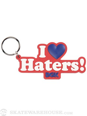 DGK Haters Keychain  Red/White/Royal