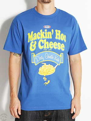 DGK Mackin' Hos & Cheese Tee Royal SM