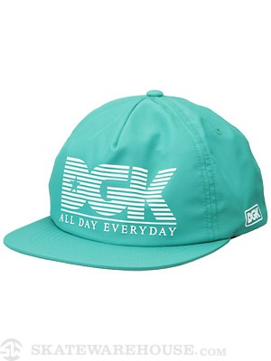 DGK Make Something Snapback Hat Teal Adj.
