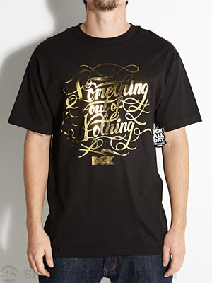 DGK Motto Tee Black SM