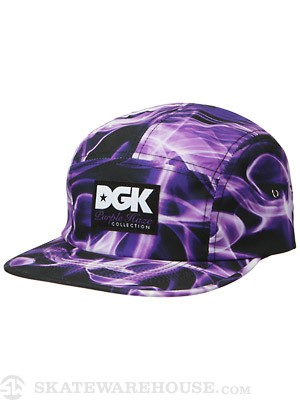 DGK Purple Haze 5 Panel Hat Purple Adj.