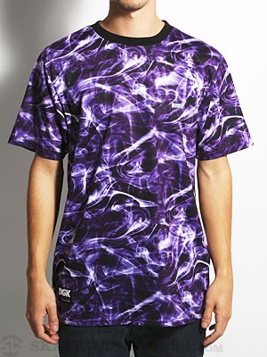 DGK Purple Haze S/S Tee Purple SM