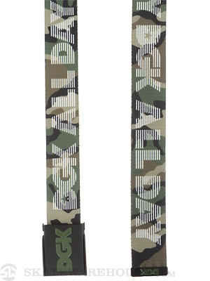 DGK Standard Issue Scout Belt Camo Adjustable