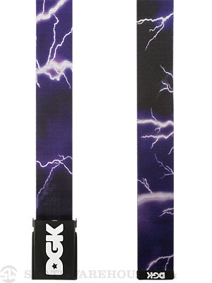 DGK Storm Scout Belt Black/Purple Adj.