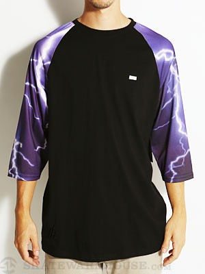 DGK Storm 3/4 Sleeve Black/Purple SM