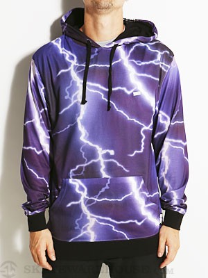DGK Storm Hooded Jersey Purple SM