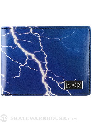DGK Storm Bi-Fold Wallet Black/Purple