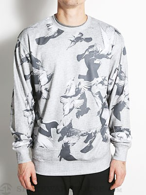DGK Survival Crew Fleece Grey SM