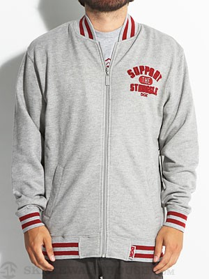 DGK Support Varsity Zip Fleece Athletic LG