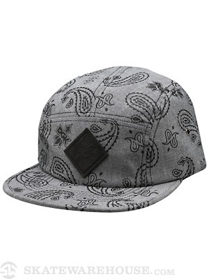 DGK Teardrop 5 Panel Black Adjust