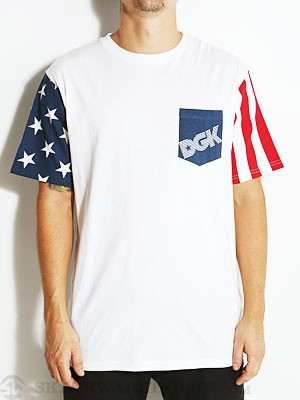 DGK United Custom Tee White SM