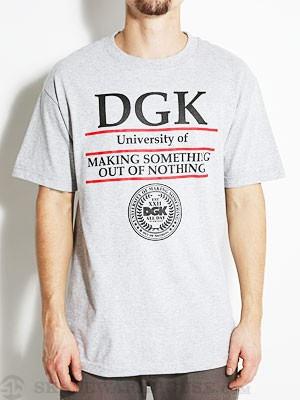 DGK University Tee Athletic Heather MD