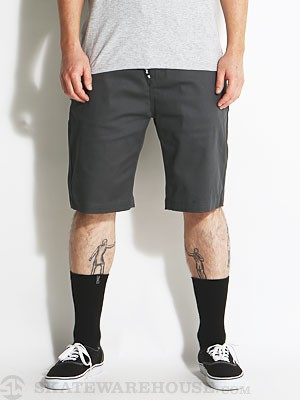 DGK Working Man 3 Chino Shorts Charcoal 28