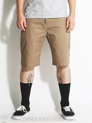 DGK Working Man 3 Chino Shorts Khaki 32