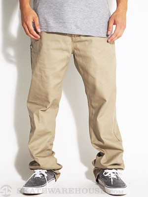 DGK Working Man 4 Chino Pants Khaki 30