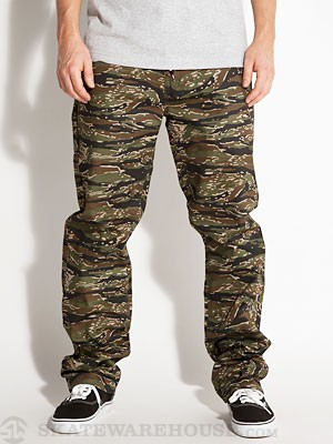 DGK Working Man 4 Chino Pants  Tiger Camo 30