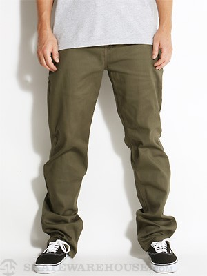 DGK Working Man 5 Chino Pants Army 28