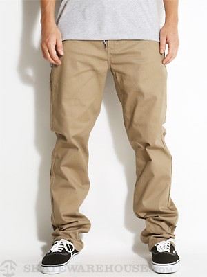 DGK Working Man 5 Chino Pants Khaki 28