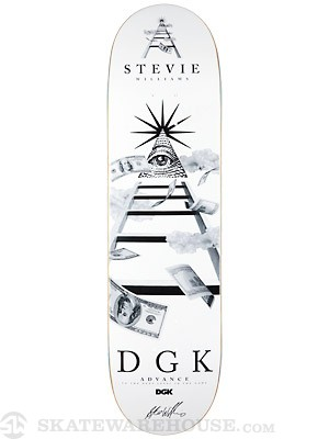DGK Williams Advance Deck  8.38 x 32